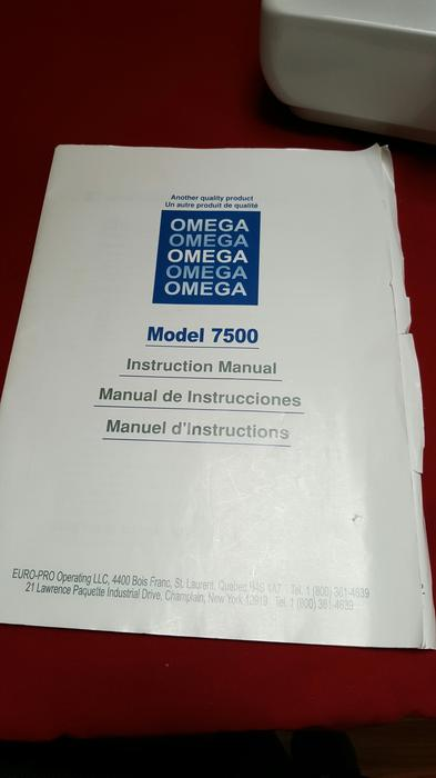 europro omega deluxe denim machine model 7500 central saanich rh usedvictoria com omega sewing machine 7500 manual Franklin Sewing Machine Manual