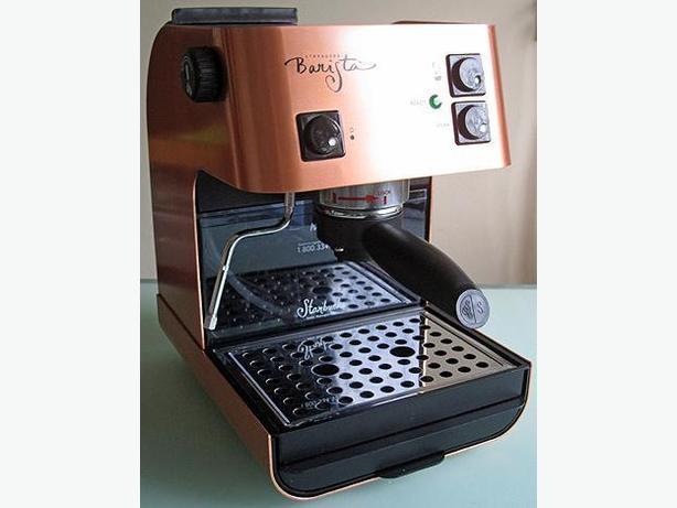 Saeco Starbucks Barista Espresso Machine In Rare Brushed