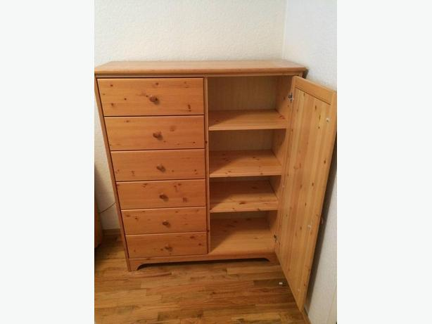 solid pine chest of drawers armoire wardrobe esquimalt view royal victoria. Black Bedroom Furniture Sets. Home Design Ideas