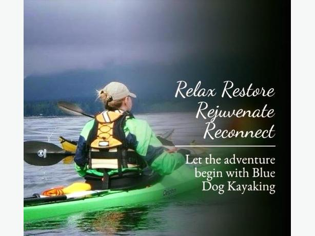 Kayak adventures for woman