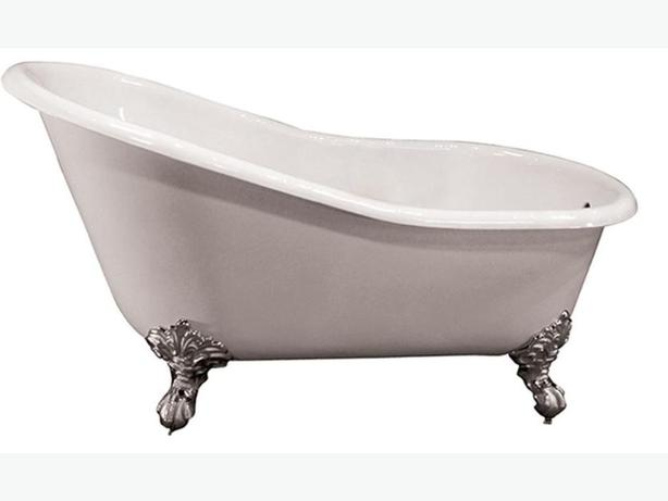 cast iron bathtub and fittings nanoose bay