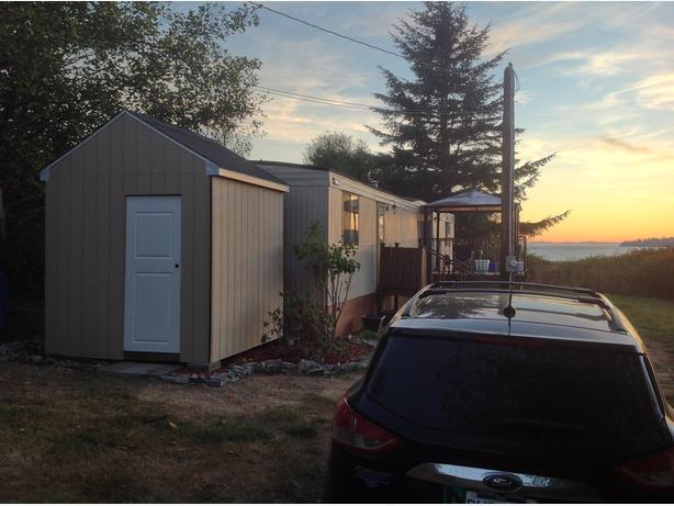 Modern upgraded 2 bed 1 bath mobile home for sale sooke for 1 bed 1 bath mobile home