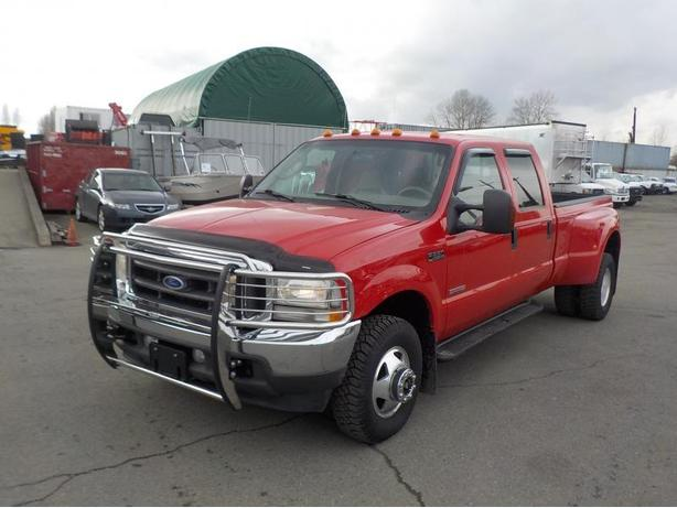 2004 ford f 350 sd lariat crew cab long box 4wd dually diesel outside comox valley courtenay comox. Black Bedroom Furniture Sets. Home Design Ideas