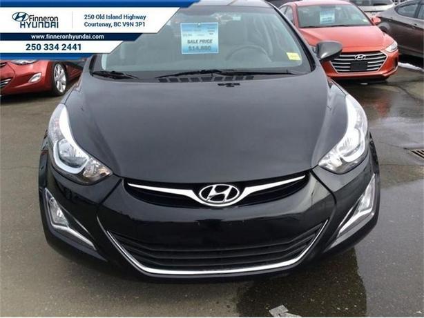 2014 Hyundai Elantra GLS  Low Mileage, Sunroof, Bluetooth