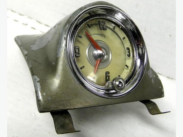 1948 49 50 51 52 Olds Super 88 Chevy GMC Truck Pontiac Dash Top Clock