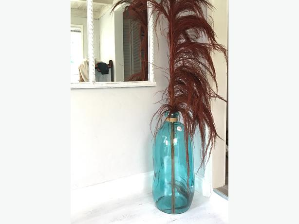 turquoise perfect glass and bottle vase pinterest vases glassware pin aqua blue pale