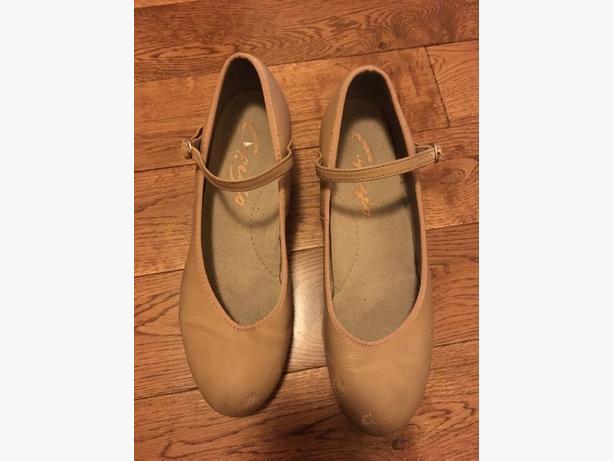 Beige Capezio Tap Shoes - 6 1/2 M