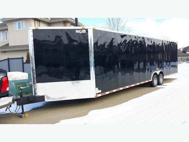 30'  X 8.5'  plus 5' V-NOSE 2020 CYNERGY CARGO TRAILER