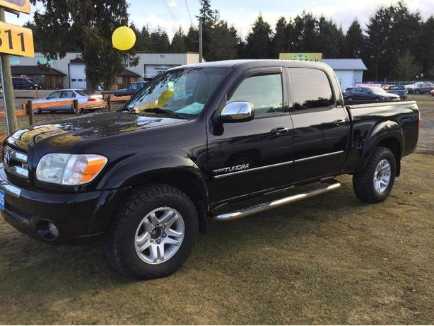 2005 toyota tundra sr5 double cab 2wd 4 7l i force v8 outside comox valley courtenay comox. Black Bedroom Furniture Sets. Home Design Ideas