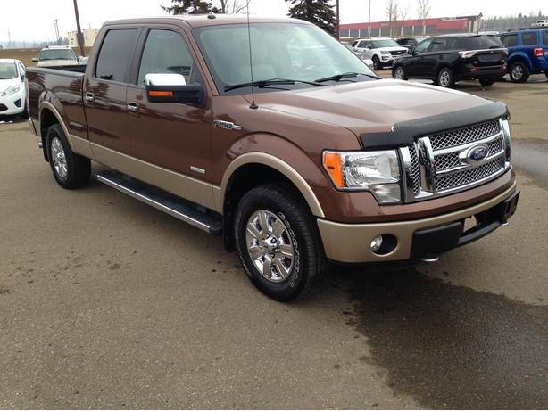 BEAUTIFUL 2012 Ford F-150 Lariat TWO-TONE - LEATHER - LOW KM!