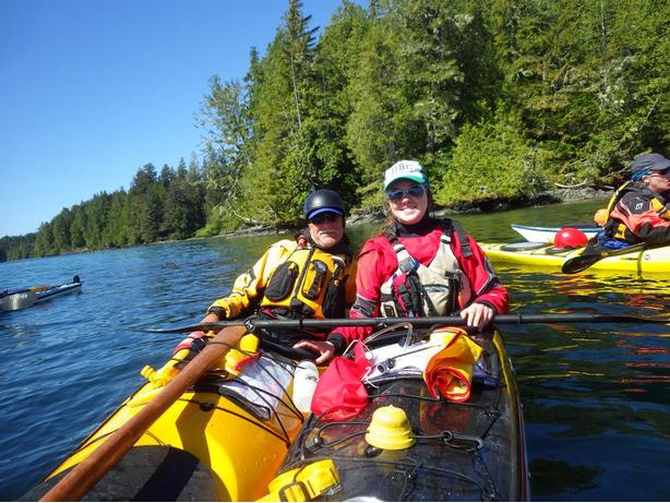 5 Day West Coast Vancouver Island Kayak Instructional Expedition