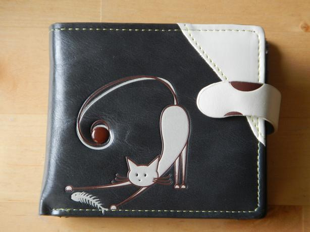 NEW Espe Wallet - Cat with Fish