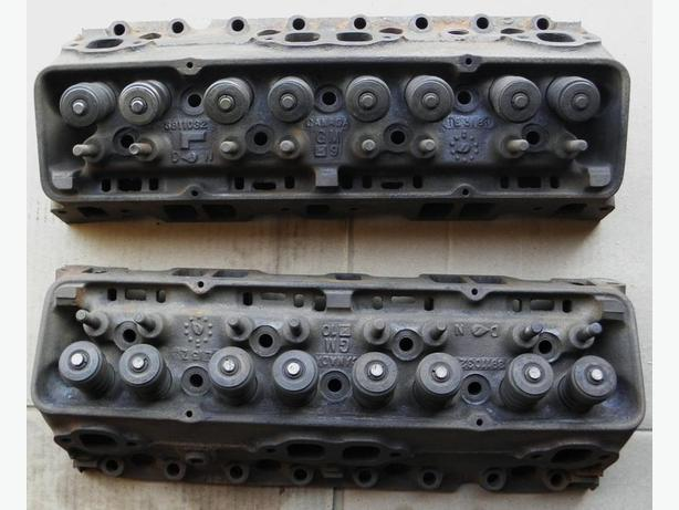 1968 67 66 Chevy Camaro Chevelle SBC 327 Cylinder Heads Impala SS