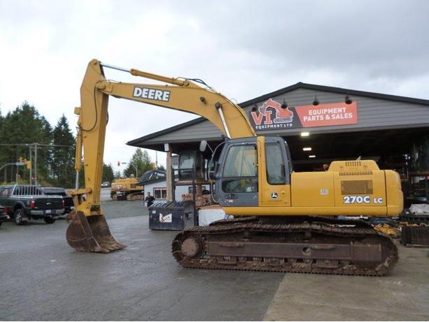 John Deere 270C LC Excavator