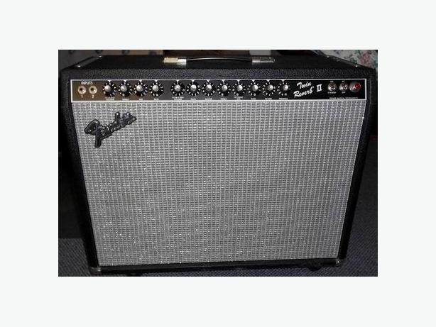 Fender Twin Reverb II amplifier