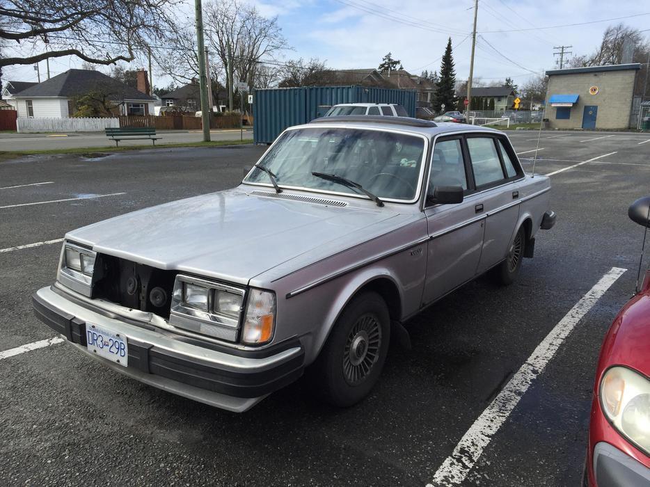 1983 Volvo GL Victoria City, Victoria