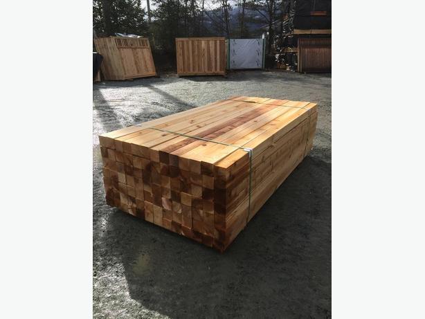 Cedar 4x4 S4S Standard and Better
