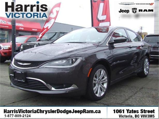 2016 Chrysler 200 Limited GPS Navigation!