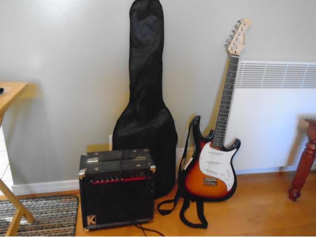 2 electric  guitars