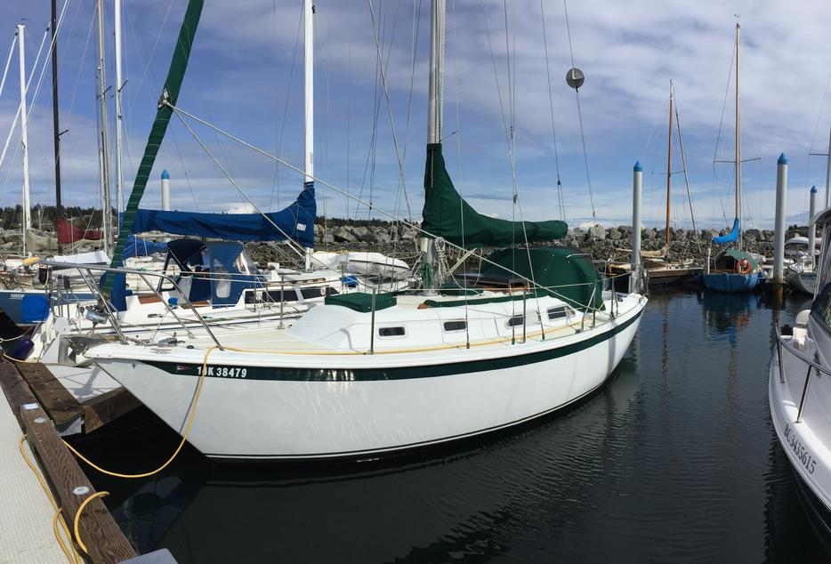 29 Ericson New Volvo Shaft Prop Great Boat Oak Bay Victoria