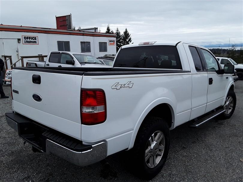 2005 ford f150 ext cab 4x4 outside comox valley courtenay. Black Bedroom Furniture Sets. Home Design Ideas