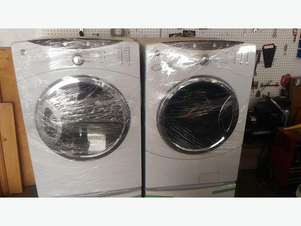 REDUCED! Top of the line GE washer & dryer set