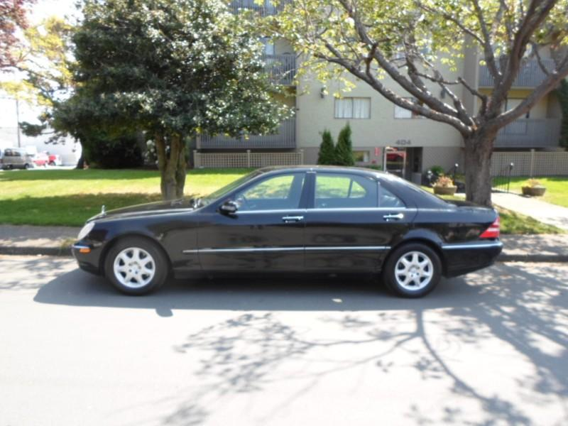 2000 mercedes benz s500 loaded auto v8 esquimalt for Mercedes benz bay ridge