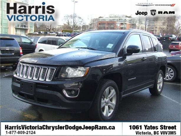 2016 jeep compass high altitude power heated leather seats victoria city victoria. Black Bedroom Furniture Sets. Home Design Ideas