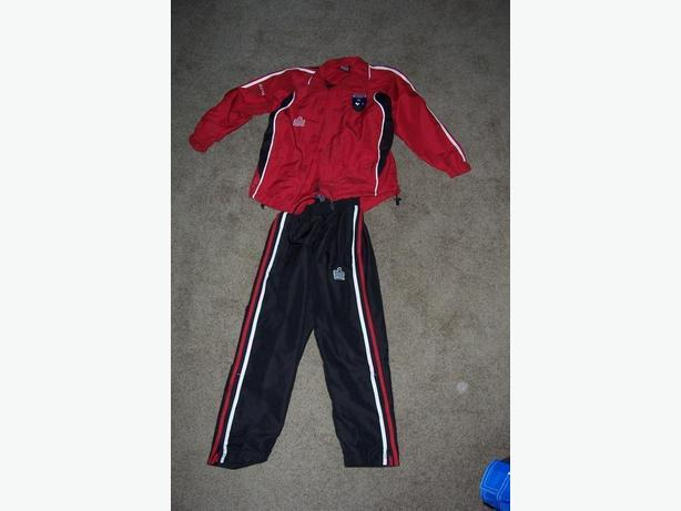 Tracksuit Red & Black