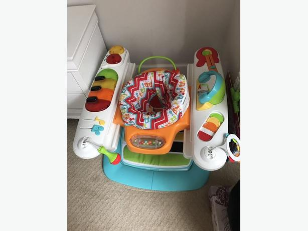 Fisher Price 4 In 1 Step N Play Piano West Shore