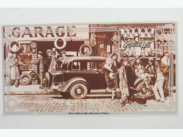 Rock N Roll Vintage Album Release Posters - $10 each