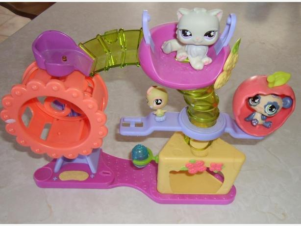 Littlest Pet Shop Hamster Playground Playset