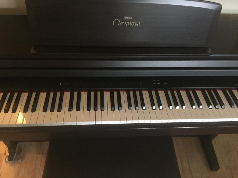 Yamaha clavinova clp 155 88 key clavinova digital piano for Yamaha piano store winnipeg