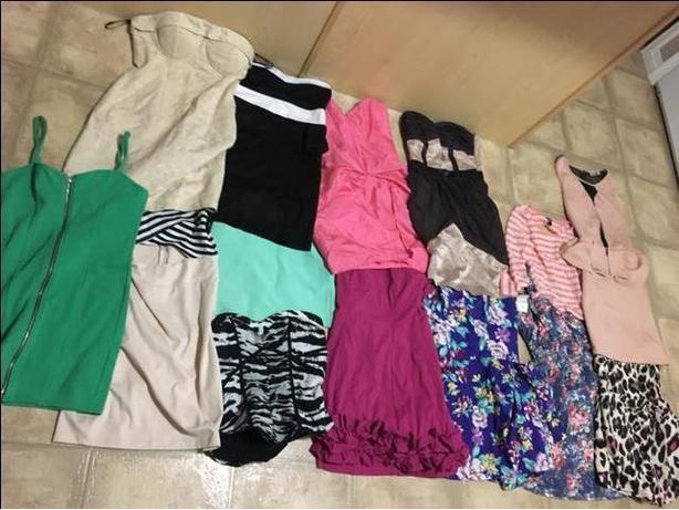 Uforia, Costa Blanca, Forever 21, Bebe dresses/shirts/skirt