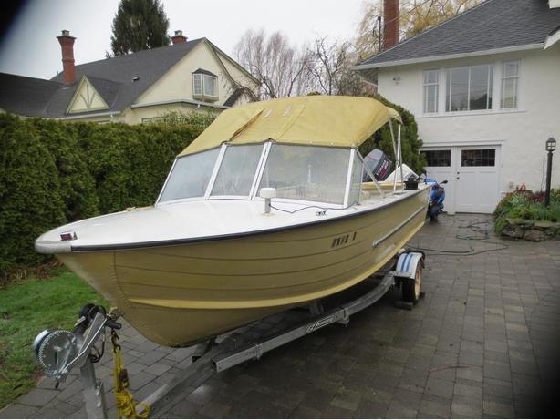 16 foot starcraft aluminum fishing boat oak bay victoria for 16 ft fishing boat