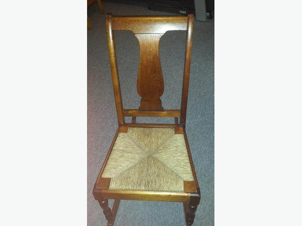 Fiddleback Armless Youth Or Small Adult Rocking Chair