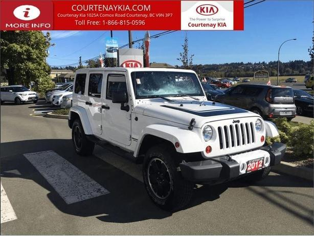 2012 Jeep Wrangler Unlimited Sahara **SPRING CLEANING SALE**
