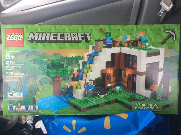 Minecraft Lego set, 21134 never been opened