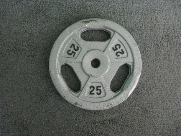 ONE- 25 LB TRI-HANDLE PLATE