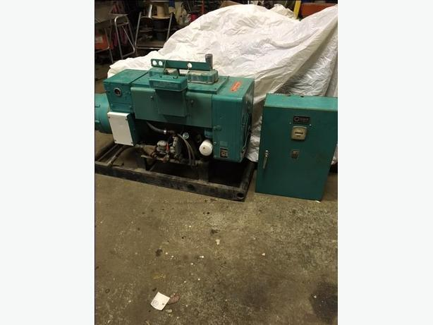 GENERATOR 15KW 1800 RPM NATURAL GAS 347/600