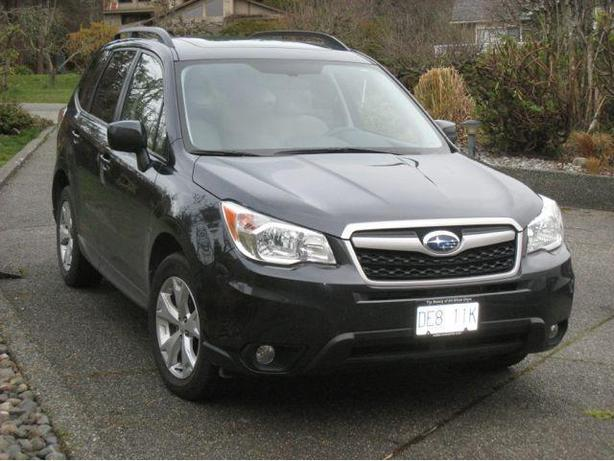 2014 subaru forester 2 5 touring north saanich sidney victoria. Black Bedroom Furniture Sets. Home Design Ideas
