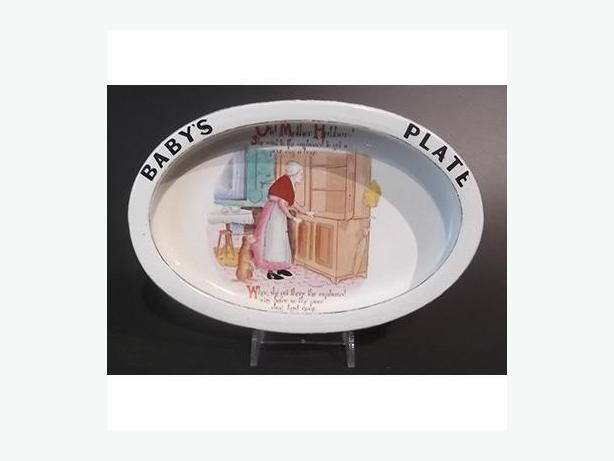 Vintage Carltonware Baby's Plate