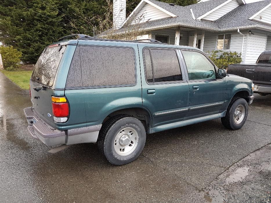 Ford Explorer Vancouver Island