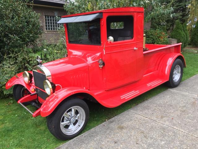 1925 Ford Tt Truck Outside Victoria Victoria