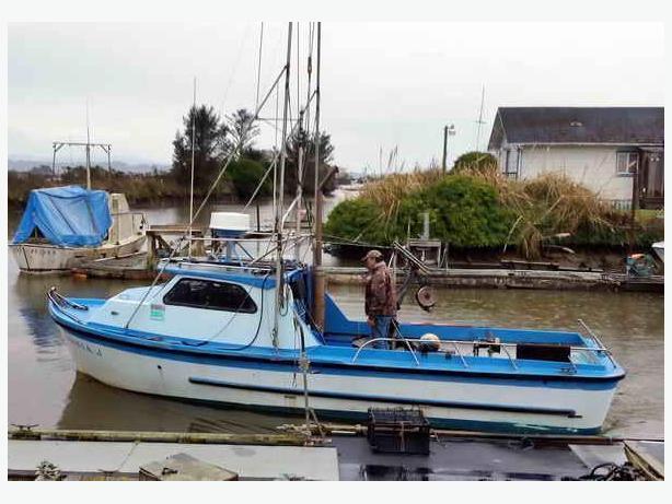 Salmon Fishing Boat And California Permit For Sale - Virginia J
