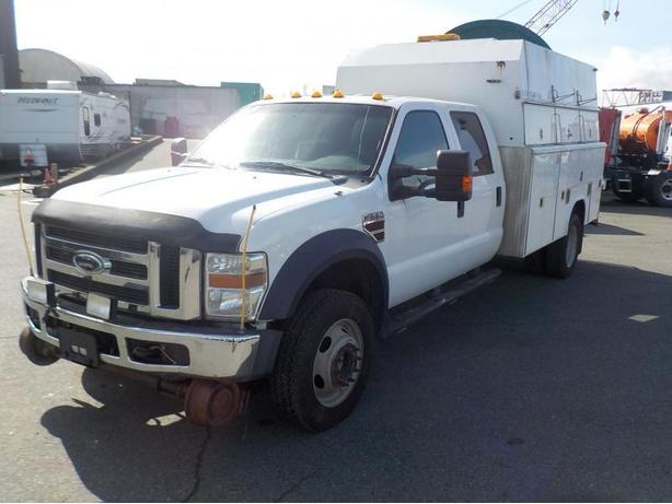2009 Ford F-550 SD Crew Cab Hi-Rail with Service Box Dually 4WD Diesel