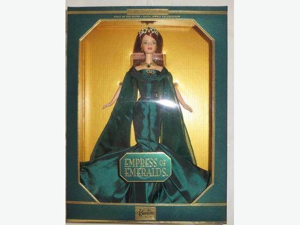 Empress of Emeralds Barbie Doll - REDUCED