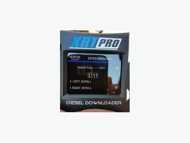 H&S RESET/UNLOCK CODE FOR XRT PRO MINI MAXX BLACK MAXX