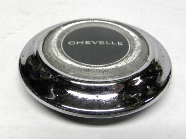 1967 67 Chevy Chevelle Malibu ElCamino Horn Cap Button