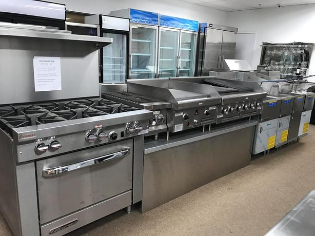 COMMERCIAL RESTAURANT EQUIPMENT, BRAND NEW, BAKERY, COOLERS, FREEZERS, BAR,